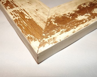 11 x 14 Ready to Ship picture frame ~ Light Brown and Beige ~ Looks like Desert Camo ~ 2 1/4 x 3/4 x 1/2 inch Moulding