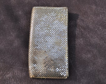 Vintage Whiting and Davis Gold Mesh Wallet or Clutch