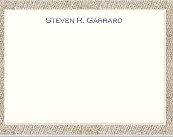 Personalized Stationery - 25 note cards & envelopes