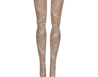 """Pullip DAL Doll Stockings - Light Pink Lace - Doll Clothes - 12"""""""