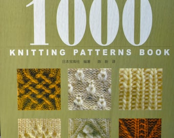 1000 Knitting Patterns Ebook Download : 1000 KNITTING PATTERNS BOOK 700 Knit & 300 Crochet