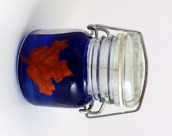 Leaf Jar Candle