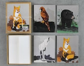 Forest Animals Stationery, Note Set