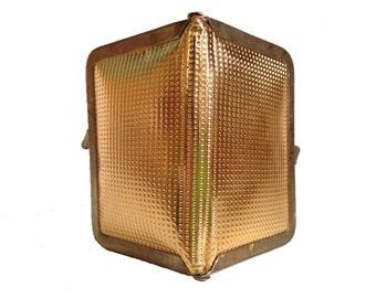 gold . SEWING KIT  //  Vintage gold travel sewing kit