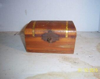 Mini Cedar Wood Jewelery Box