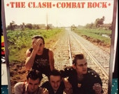 Vinyl Record LP - The Clash - Combat Rock 1982