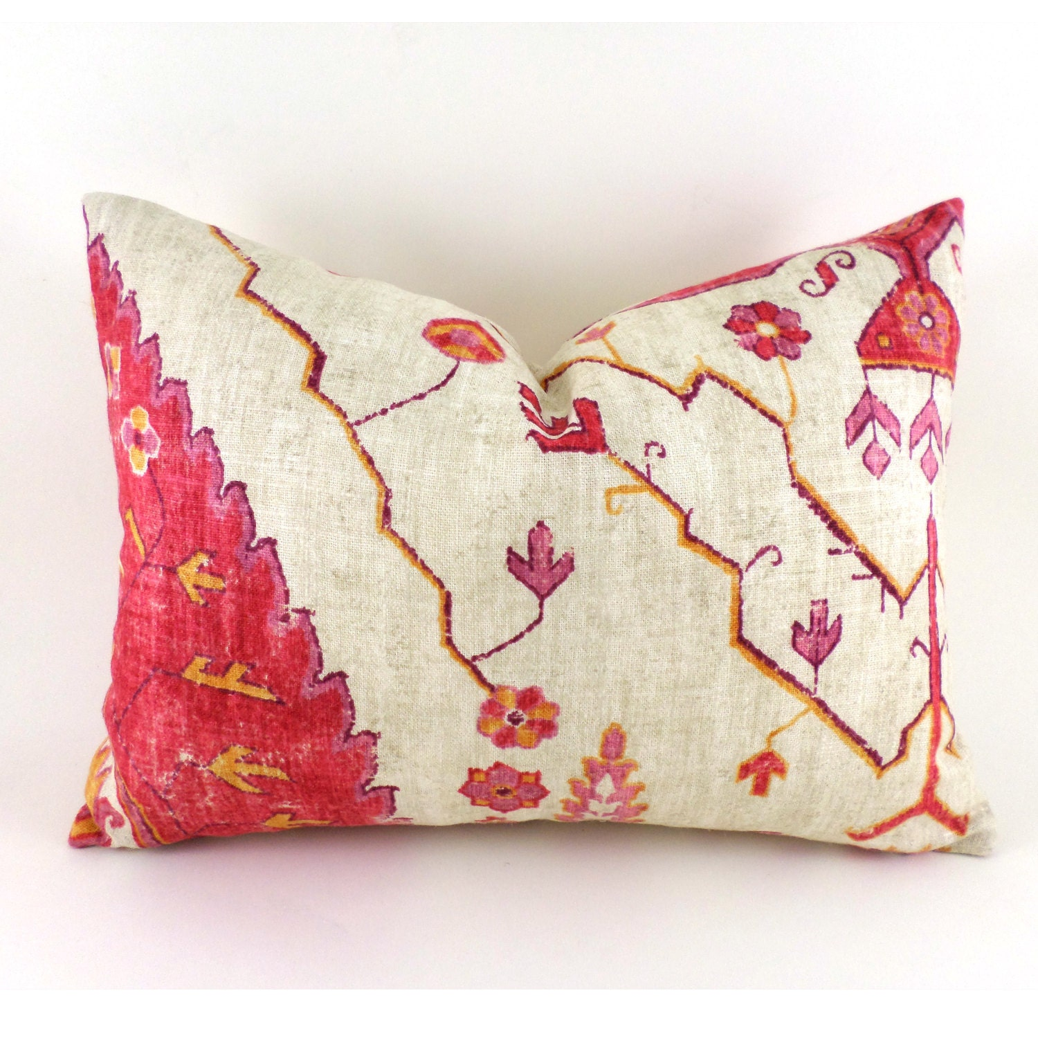 Lumbar Pillow Cover ANY SIZE Decorative Pillow Cover Designer