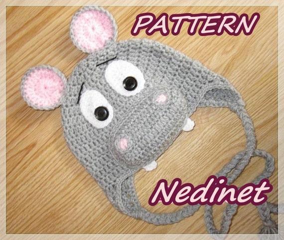Free Crochet Pattern Hippo Hat Pakbit For