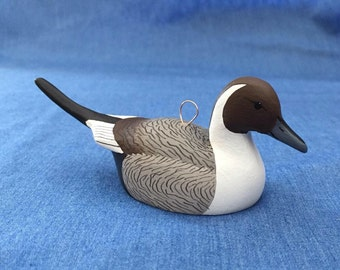 Pintail Duck Ornament