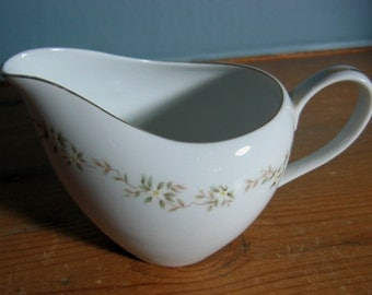 Royal M China Lori Pattern Porcelain Yamaka Cream Pitcher Creamer