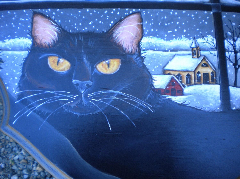 Winter Cute Cat Wallpaper | Free HD Cat Downloads  |Winter Scenes With Cats
