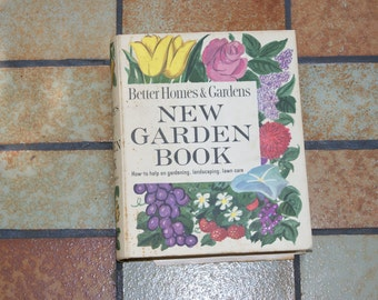 Vintage 1966 Better Homes And Garden Book NEW GARDEN BOOK With Loose Page