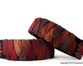 Natural Anti Nausea Bracelets for motion sickness, nausea, vertigo. Brown