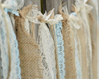 ... Vintage Burlap Curtains : Popular Items For Burlap Lace Pearls On Etsy  ...