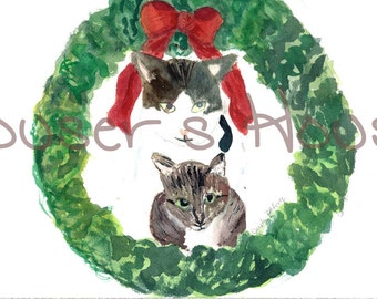 Wreath of Kitties