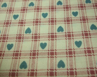Heart of My Heart Country Fabric Retired Out of Print FQ
