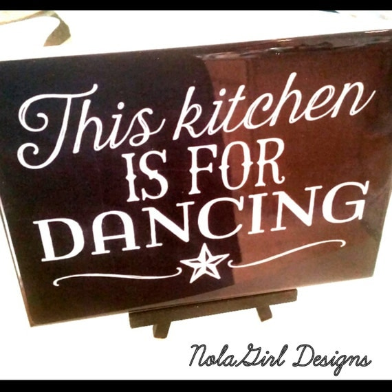 Kitchen Decoration Dancing In The Sign Black White Home Decor Country Art Decorative Gift Rustic