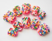 Candy Sprinkle Fake Nails, Acrylic Nails, False Nails, Press on, Nails, Birthday, Gumball, Candy, 3D, Nail Art, Kawaii, Sweet Lolita