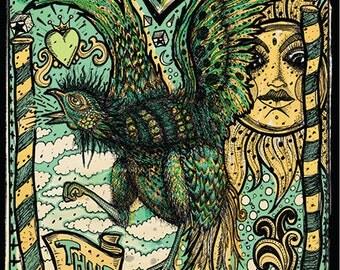 GoGol Bordello poster by artist: Darren Grealish
