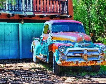 Rusty Truck - Old Truck - Fine Art Photo - Rustic - Retro - Americana - Gifts for Guys - Man Cave Art - Vintage Truck - Gifts for Men
