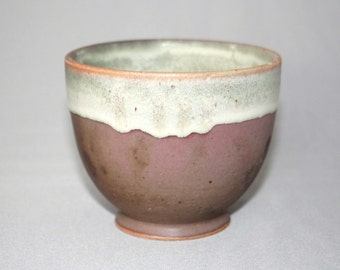 Matte Pink Cream Yellow and Seafoam Green Ceramic Bowl, Clay Pasta Cereal Soup Bowl, Modern Kitchen Home Decor, Unique Matcha Chawan
