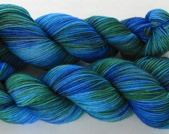 Hand Dyed Yarn - Sporty (English Garden)