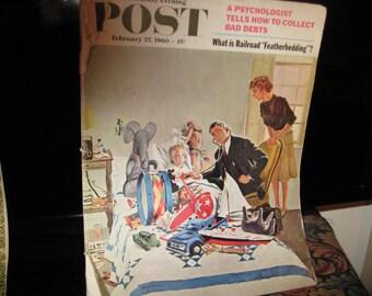 Vintage Saturday Evening Post 1960