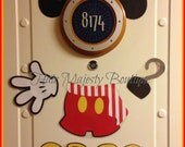 Mickey Mouse Classic Pirate Body Part Magnet for Cruise Door