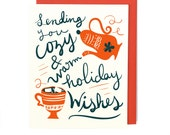 Cozy Warm Holiday Card - Singles & Box Set