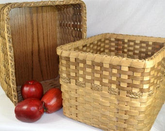 TWO Shelf Baskets or Shelf Bins for Pantry, Closet, or Office Organizing