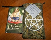Tarot Deck with Pentacle Drawstring Tarot Bag