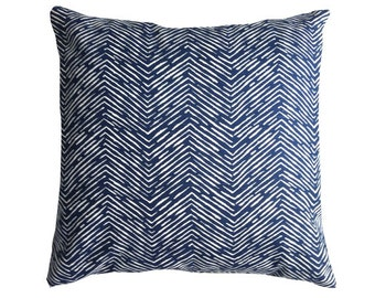 Navy Pillow Covers, Decorative Pillows, Throw Pillows, Blue Pillows, Pillow Covers