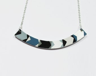 Necklace ARROW. Laquer Multicolor