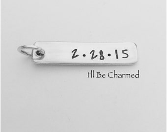 Add-On Date or One Name Aluminum Tag