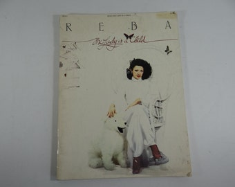 """1978 Reba  """"The Lady is a Child"""" Songbook - Benson co."""