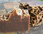 Chocolate Kisses Soap, Handmade Cold Process Soap