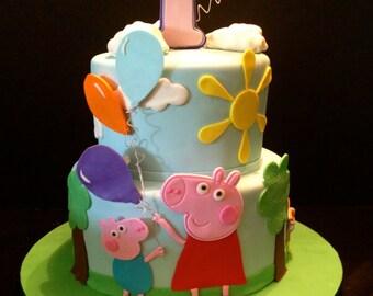Peppa Pig Cake Decorating Kit