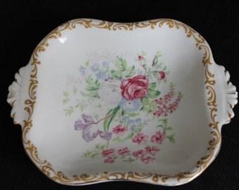 Vintage Royal Albert Bone China Nosegay Candy Dish