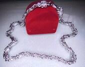 1928 Vintage Double Chain Necklace