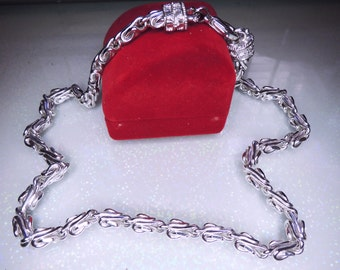 1928 Vintage Double Chain Necklace