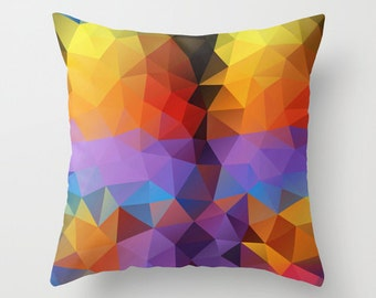 Cushion Covers Pillow Cover Pillow Case Designer Throw Decorative Throw Geometric Pillow Art Cover Pillow Accent Pillow Autumn Case 18x18