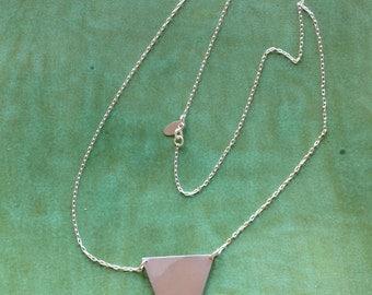 Triangle Rocker Necklace
