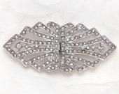 Wedding buckle, Rhinestone buckle, Bridal buckle belt buckle, Bridal clasp, Wedding Jewelry, Wedding Accessory, Wedding Clasp