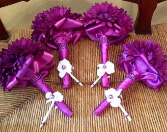 DEPOSIT | Bridesmaids Bouquet | Custom Brooch Bouquet | Broach Bouquet | Jr Bridesmaid | Flower Girl Bouquet