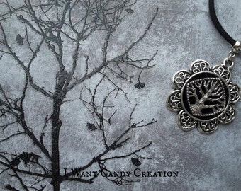 HANDMADE - Celtic Tree Life Necklace