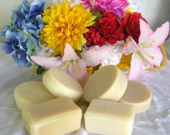 Handcrafted Goat's Milk Soap, 2/8 Lavender, Rosemary