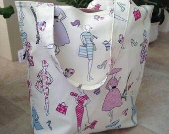 Elegant Ladies Shopping Tote Bag
