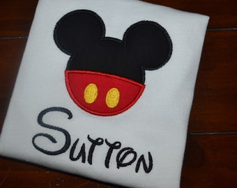 Personalized Mickey Shirt