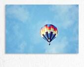 Hot Air Balloon Dreamy Photography Photo Print