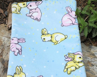 Bunny or  guinea pig pee pad for sitting on your  lap . Choose your colour pink or  blue . pet mat or  pad, pet bed